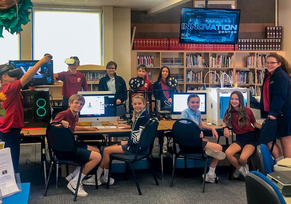 Technology in Full Force at Our Lady of Las Vegas School