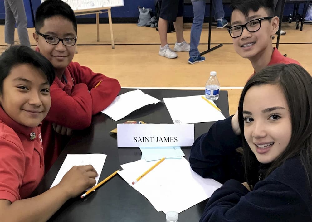 Saint Anne Prepares for the Math Olympiad