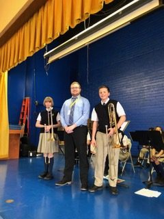 SVS Band Students Recognized