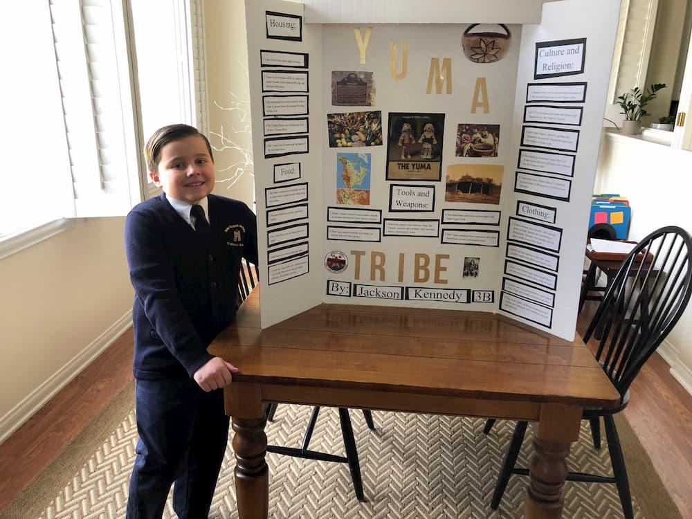 SEAS 3rd-grade Native American Project